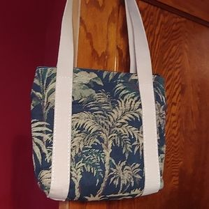 Bonniebag palm tree tapestry shoulder bag